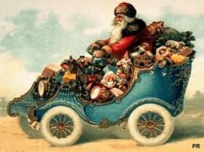Un immagine storica di Babbo Natale